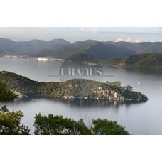 Ege Denizi, Cennet Adası, Marmaris-Muğla
